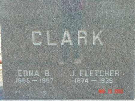 CLARK, J. FLETCHER - Talbot County, Maryland | J. FLETCHER CLARK - Maryland Gravestone Photos