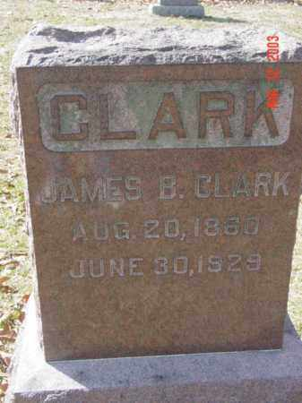 CLARK, JAMES B. - Talbot County, Maryland | JAMES B. CLARK - Maryland Gravestone Photos