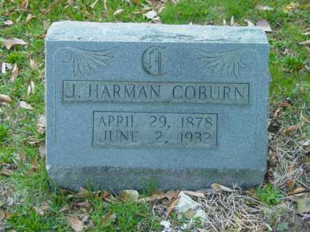 COBURN, J. HARMAN - Talbot County, Maryland | J. HARMAN COBURN - Maryland Gravestone Photos