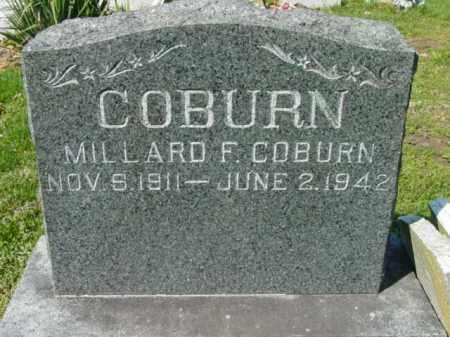 COBURN, MILLARD F. - Talbot County, Maryland | MILLARD F. COBURN - Maryland Gravestone Photos