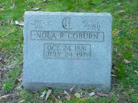 COBURN, NOLA R. - Talbot County, Maryland   NOLA R. COBURN - Maryland Gravestone Photos