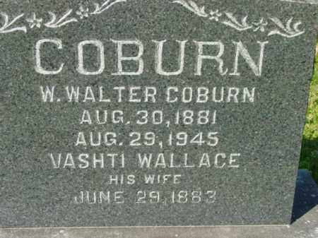 COBURN, W. WALTER - Talbot County, Maryland | W. WALTER COBURN - Maryland Gravestone Photos