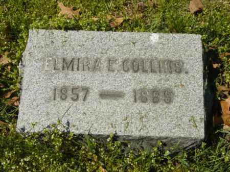 COLLINS, ELMIRA E. - Talbot County, Maryland | ELMIRA E. COLLINS - Maryland Gravestone Photos