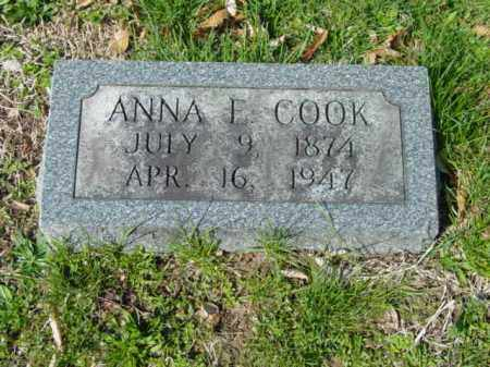 COOK, ANNA E. - Talbot County, Maryland | ANNA E. COOK - Maryland Gravestone Photos