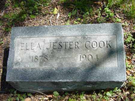 JESTER COOK, ELLA - Talbot County, Maryland   ELLA JESTER COOK - Maryland Gravestone Photos