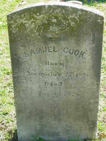 COOK, SAMUEL - Talbot County, Maryland   SAMUEL COOK - Maryland Gravestone Photos