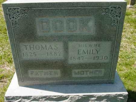 COOK, EMILY - Talbot County, Maryland | EMILY COOK - Maryland Gravestone Photos