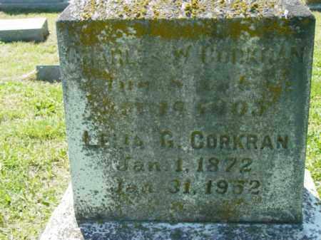 CORKRAN, CHARLES W. - Talbot County, Maryland   CHARLES W. CORKRAN - Maryland Gravestone Photos