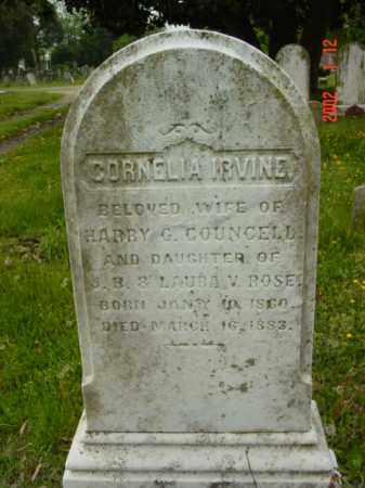 COUNCELL, CORNELIA IRVINE - Talbot County, Maryland | CORNELIA IRVINE COUNCELL - Maryland Gravestone Photos