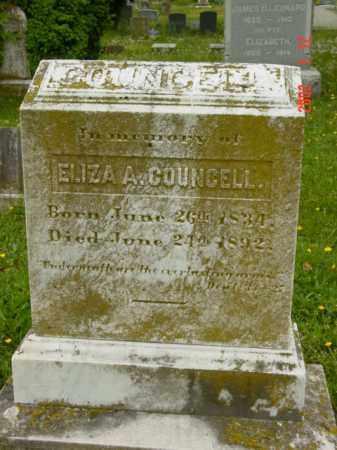 COUNCELL, ELIZA A. - Talbot County, Maryland | ELIZA A. COUNCELL - Maryland Gravestone Photos