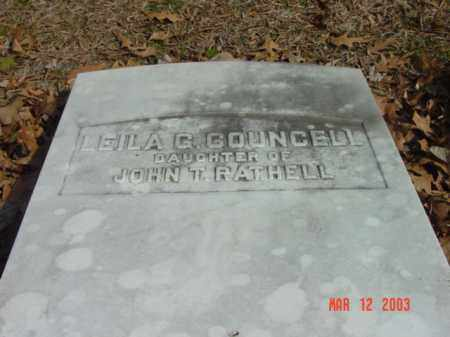 COUNCELL, LEILA G. - Talbot County, Maryland | LEILA G. COUNCELL - Maryland Gravestone Photos