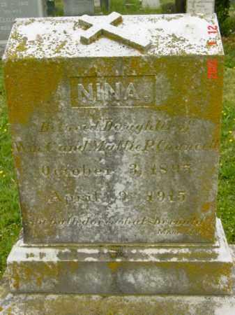 COUNCELL, NINA - Talbot County, Maryland | NINA COUNCELL - Maryland Gravestone Photos