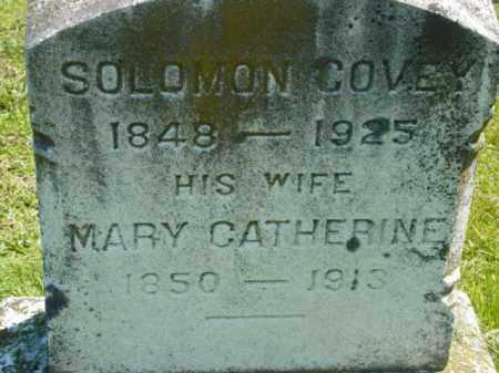 COVEY, MARY CATHERINE - Talbot County, Maryland   MARY CATHERINE COVEY - Maryland Gravestone Photos