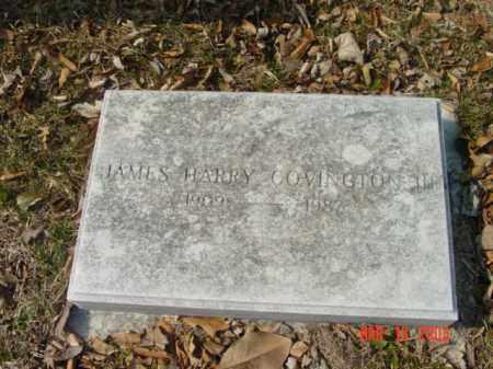 COVINGTON, III, JAMES HARRY - Talbot County, Maryland | JAMES HARRY COVINGTON, III - Maryland Gravestone Photos