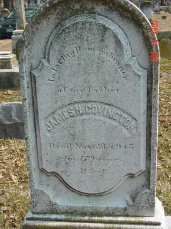 COVINGTON, JAMES H. - Talbot County, Maryland   JAMES H. COVINGTON - Maryland Gravestone Photos