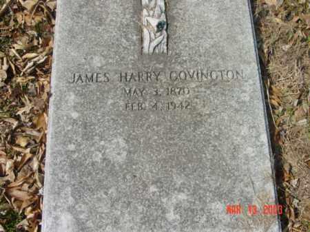 COVINGTON, JAMES HARRY - Talbot County, Maryland | JAMES HARRY COVINGTON - Maryland Gravestone Photos