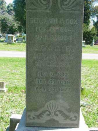 COX, BENJAMIN  P. - Talbot County, Maryland | BENJAMIN  P. COX - Maryland Gravestone Photos