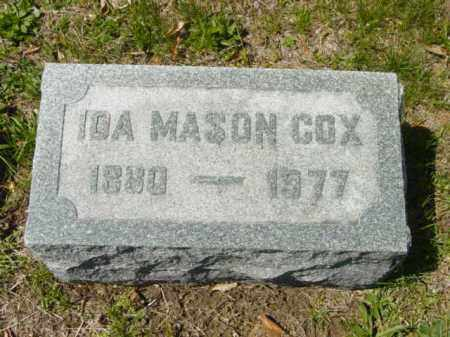 MASON COX, IDA - Talbot County, Maryland | IDA MASON COX - Maryland Gravestone Photos