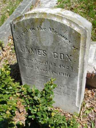 COX, JAMES - Talbot County, Maryland | JAMES COX - Maryland Gravestone Photos