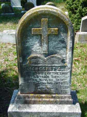 COX, MARGARET A. - Talbot County, Maryland   MARGARET A. COX - Maryland Gravestone Photos