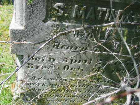 COX, SARAH MATILDA - Talbot County, Maryland | SARAH MATILDA COX - Maryland Gravestone Photos
