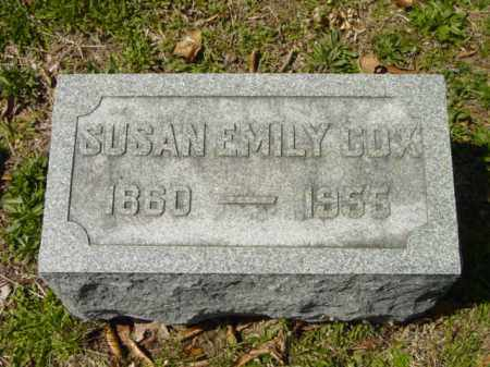 COX, SUSAN EMILY - Talbot County, Maryland | SUSAN EMILY COX - Maryland Gravestone Photos