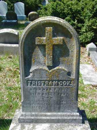 COX, TRISTAM - Talbot County, Maryland | TRISTAM COX - Maryland Gravestone Photos