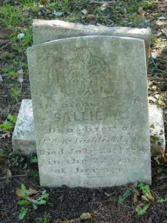 CRANE, SALLIE A. - Talbot County, Maryland | SALLIE A. CRANE - Maryland Gravestone Photos