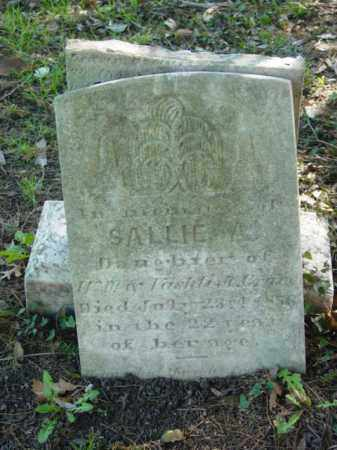 CRANE, SALLIE A. - Talbot County, Maryland | SALLIE A. CRANE - Maryland Gravestone Photos