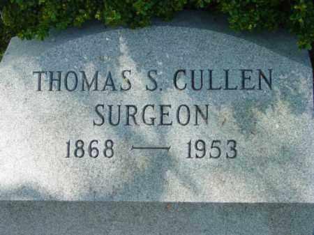 CULLEN, THOMAS S. - Talbot County, Maryland | THOMAS S. CULLEN - Maryland Gravestone Photos