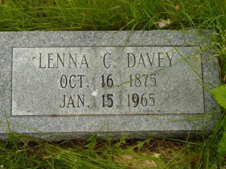 DAVEY, LENNA C. - Talbot County, Maryland | LENNA C. DAVEY - Maryland Gravestone Photos