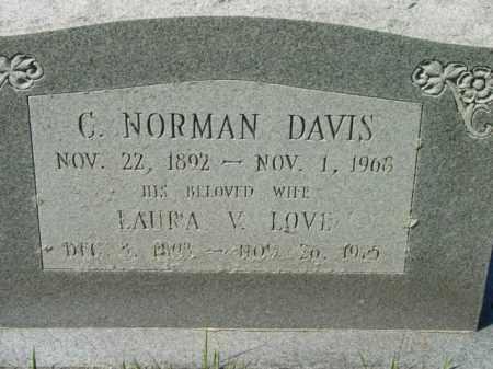 DAVIS, C. NORMAN - Talbot County, Maryland | C. NORMAN DAVIS - Maryland Gravestone Photos