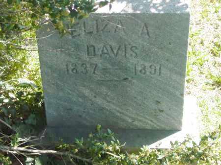 DAVIS, ELIZA A. - Talbot County, Maryland | ELIZA A. DAVIS - Maryland Gravestone Photos