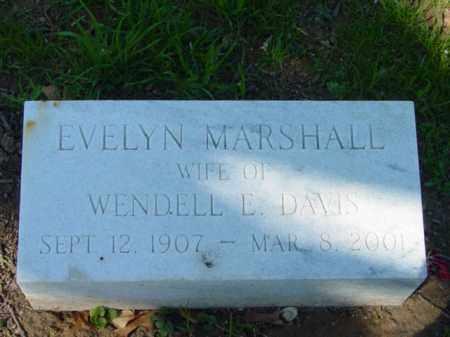 DAVIS, EVELYN - Talbot County, Maryland | EVELYN DAVIS - Maryland Gravestone Photos