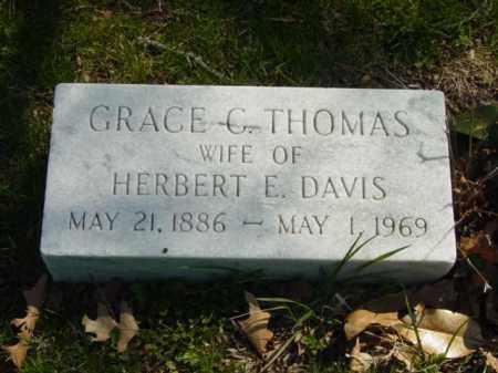 DAVIS, GRACE C. - Talbot County, Maryland | GRACE C. DAVIS - Maryland Gravestone Photos