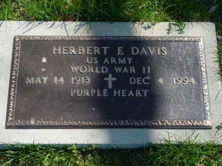 DAVIS, HERBERT E. - Talbot County, Maryland   HERBERT E. DAVIS - Maryland Gravestone Photos