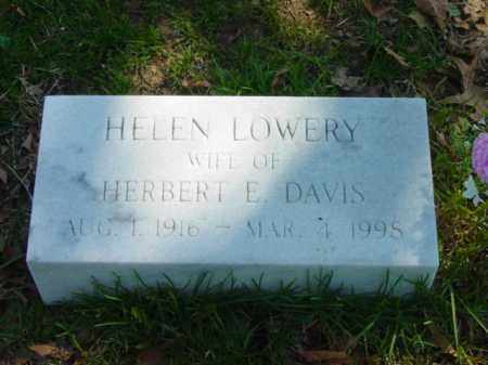 DAVIS, HELEN - Talbot County, Maryland | HELEN DAVIS - Maryland Gravestone Photos