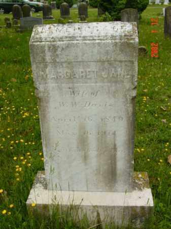 DAVIS, MARGARET JANE - Talbot County, Maryland   MARGARET JANE DAVIS - Maryland Gravestone Photos
