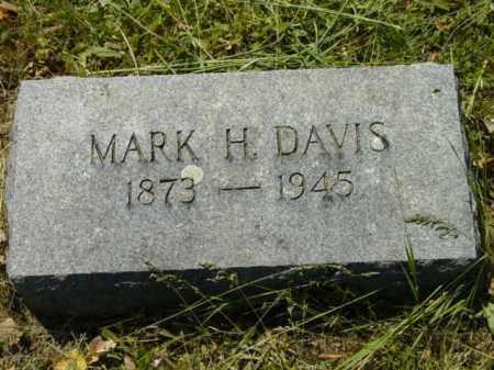 DAVIS, MARK H. - Talbot County, Maryland   MARK H. DAVIS - Maryland Gravestone Photos