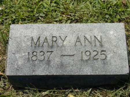 DAVIS, MARY ANN - Talbot County, Maryland | MARY ANN DAVIS - Maryland Gravestone Photos
