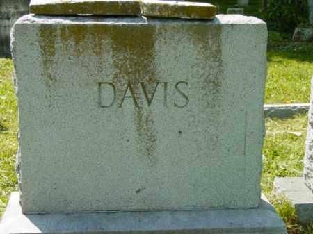 DAVIS, MOUNMENT - Talbot County, Maryland   MOUNMENT DAVIS - Maryland Gravestone Photos