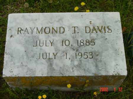 DAVIS, RAYMOND T. - Talbot County, Maryland | RAYMOND T. DAVIS - Maryland Gravestone Photos