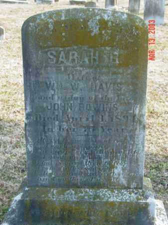 DAVIS, SARAH R. - Talbot County, Maryland | SARAH R. DAVIS - Maryland Gravestone Photos