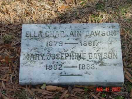 DAWSON, ELLA CHAPLAIN - Talbot County, Maryland | ELLA CHAPLAIN DAWSON - Maryland Gravestone Photos