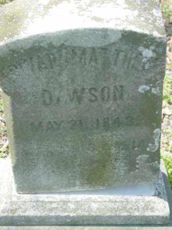 DAWSON, EDWARD MATHEW - Talbot County, Maryland | EDWARD MATHEW DAWSON - Maryland Gravestone Photos