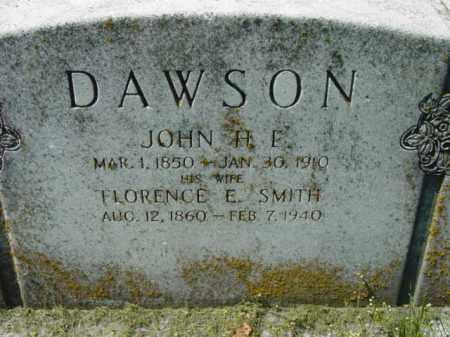 DAWSON, FLORENCE F. - Talbot County, Maryland | FLORENCE F. DAWSON - Maryland Gravestone Photos