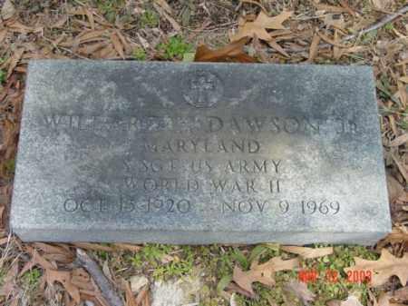 DAWSON JR., WILLARD H. - Talbot County, Maryland   WILLARD H. DAWSON JR. - Maryland Gravestone Photos