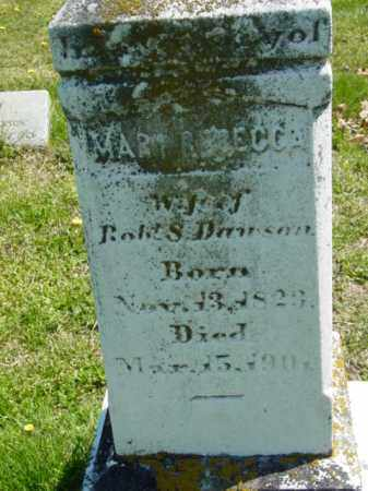 DAWSON, MARY REBECCA - Talbot County, Maryland | MARY REBECCA DAWSON - Maryland Gravestone Photos