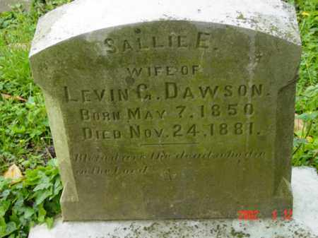 DAWSON, SALLIE E. - Talbot County, Maryland | SALLIE E. DAWSON - Maryland Gravestone Photos