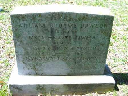 DAWSON, MYRA - Talbot County, Maryland | MYRA DAWSON - Maryland Gravestone Photos